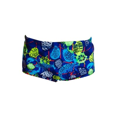Catch of the Day Printed Trunks