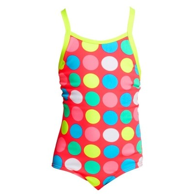 Twister Printed One Piece Toddler Girls