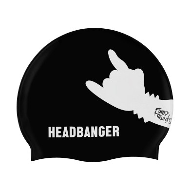 Headbanger Silicone Swimming Cap