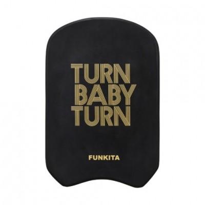 Turn baby turn gold kickboard