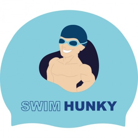 Swim Hunky badmuts - Lagoon blue