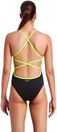Strapped in One Piece Funkita Tag