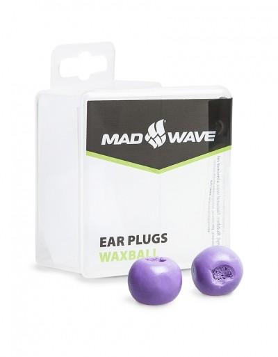 WaxBall oordopjes mad wave paars