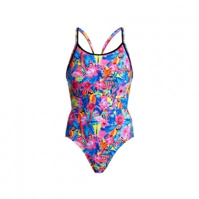 Club Tropo Diamond Back One Piece