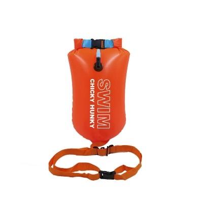 Oranje Zwemboei 16L  open water zwemmen
