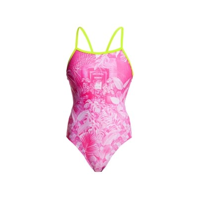 Pink Bliss Single Strap One Piece