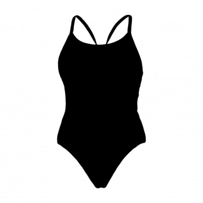 Still Black Diamond Back One Piece