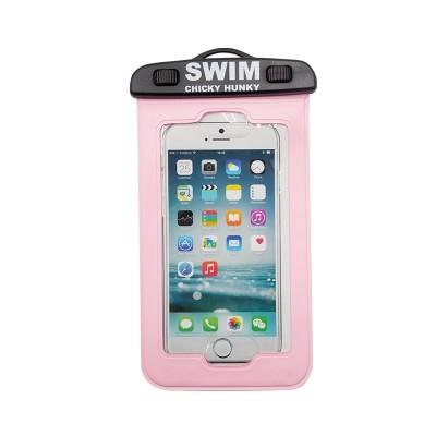 Waterdicht zwem telefoonhoesje Roze